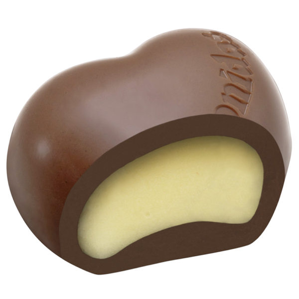 Milk Chocolate Hearts Bourban Vanilla Cream, 20 Coeur