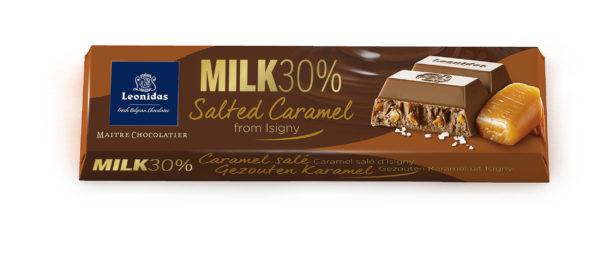 6 Salted Caramel Milk Bars