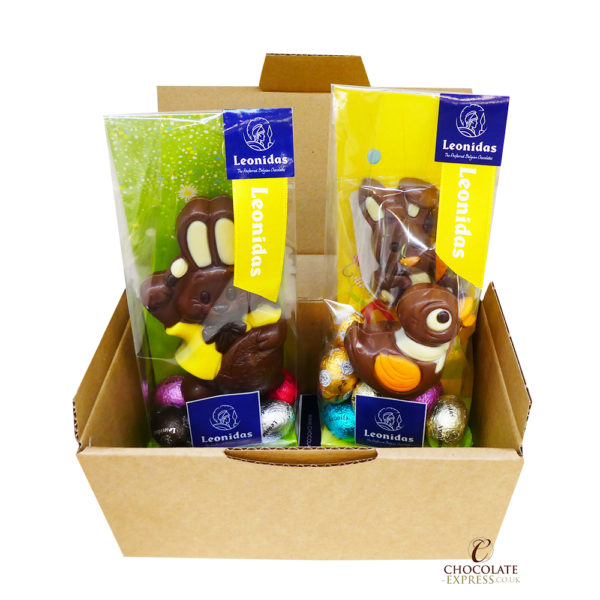 Leonidas Easter Figures & 20 Mini Eggs in Gift Bags