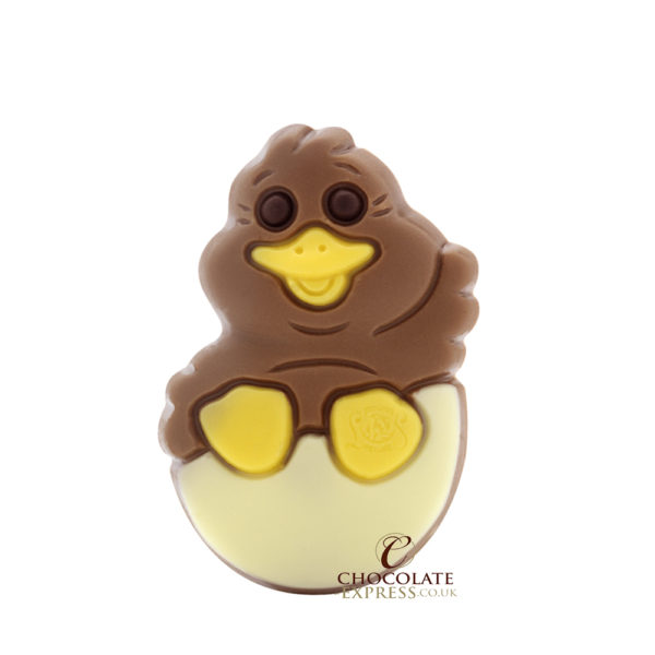 Leonidas White Egg Shell, 8 Assorted Chocolates & Easter Figure