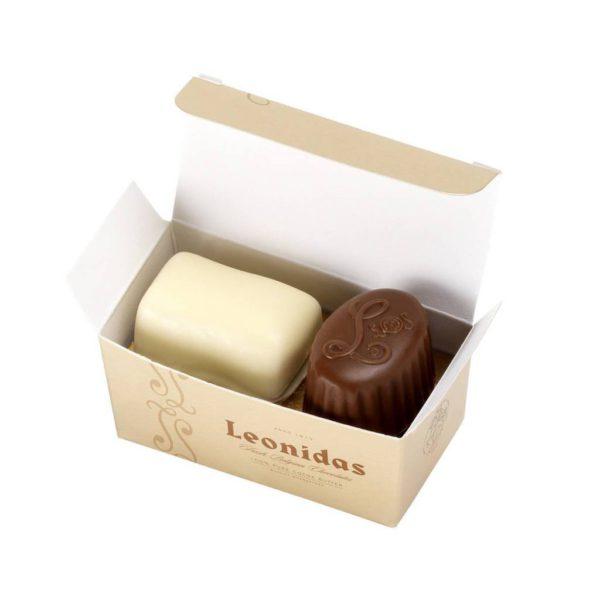 2 Leonidas Chocolates Favour Box