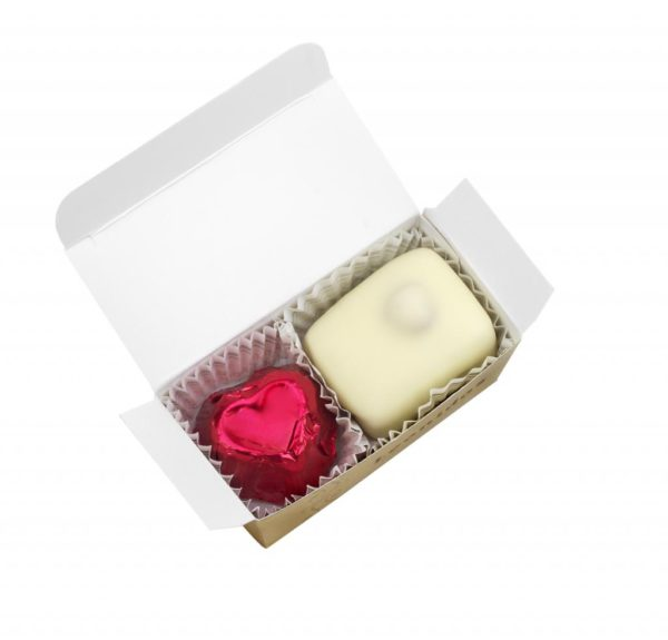 2 Leonidas Chocolates Favour Box