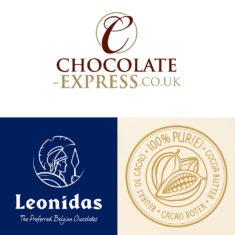 12 Leonidas Truffle Classique, Dark Chocolate with Cocoa
