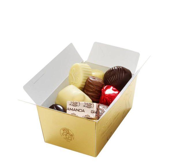 14 Assorted Leonidas Chocolates + 7 Pairs of Seasalt Socks