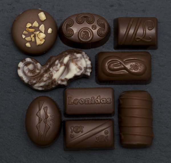 14 Leonidas Milk Chocolate