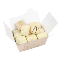 14 Leonidas White Chocolates