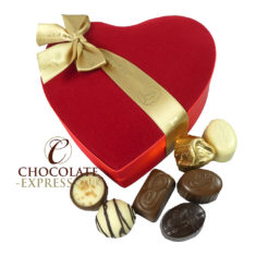 15 Assorted Leonidas Chocolates, Velvet Gift Box