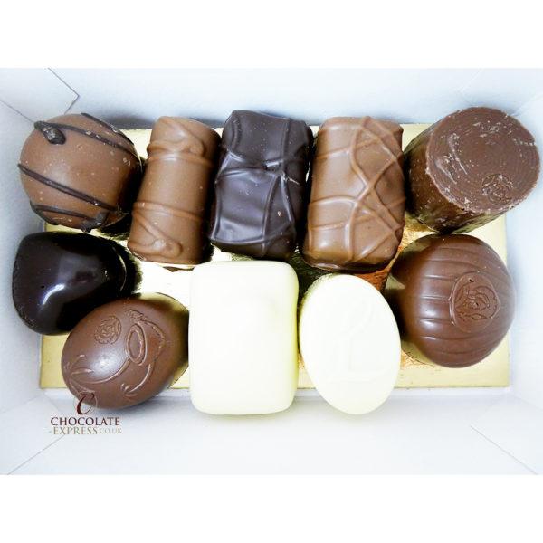 15 Reindeer Balls & 10 Assorted Leonidas Chocolates