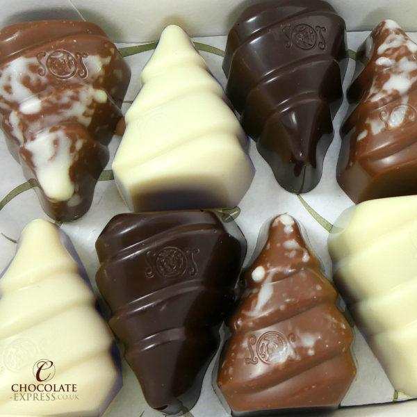18 Leonidas Chocolate Christmas Trees