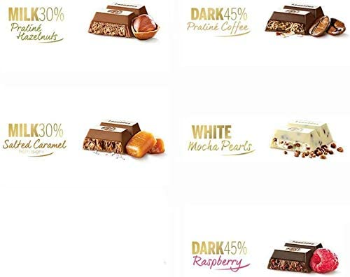 2 Gourmet Biscuit Boxes, 5 Bars & 24 Praline Gift box