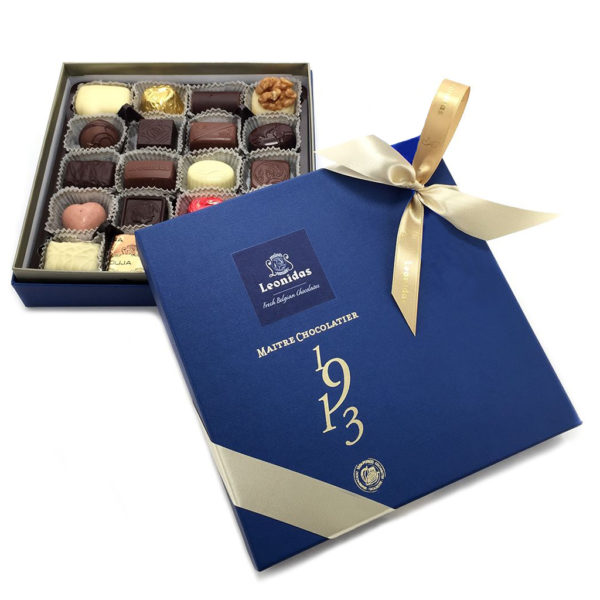 16 Assorted Leonidas Chocolates + A Pair of Seasalt Socks