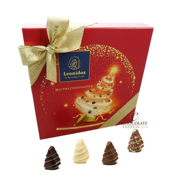 20 Leonidas Chocolate Christmas Trees