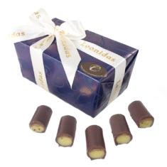 22 Buche Pistache, Dark Chocolate & Pistachio Marzipan