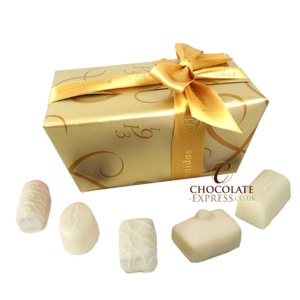 22 Leonidas White Chocolates