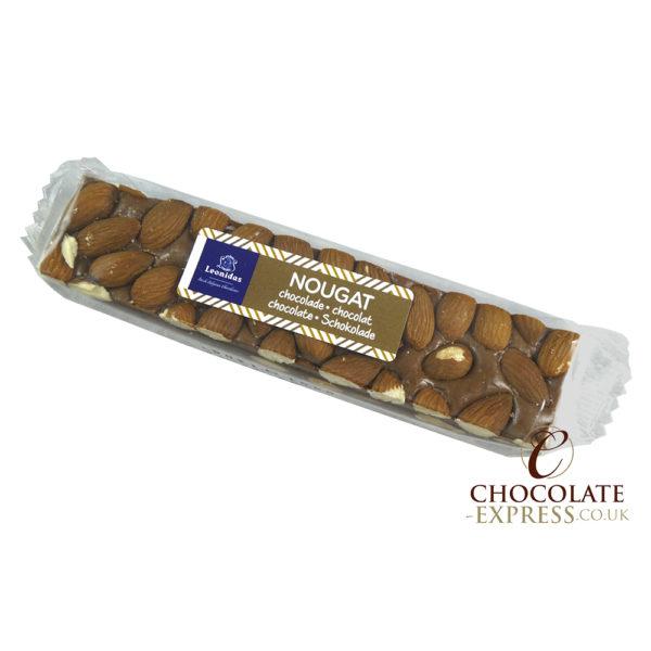3 Leonidas Chocolate Nougat Bars