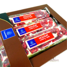 3 Leonidas Nougat Bars with Cranberry