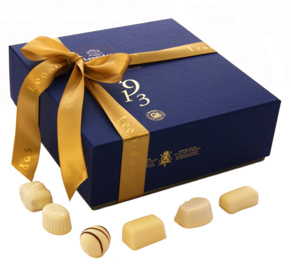 32 White Leonidas Chocolates