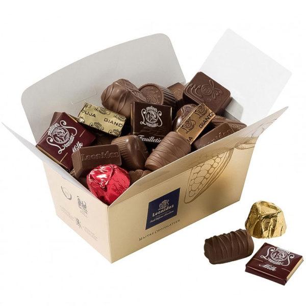 35 Leonidas Milk Chocolates