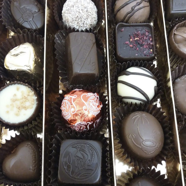 42 Assorted Chocolates in Festive Gift Box