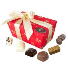 45 Assorted Leonidas Chocolates, Christmas Wrapping