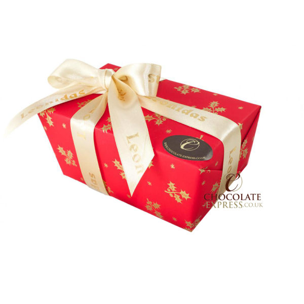 45 Assorted Leonidas Chocolates, Christmas Wrapping