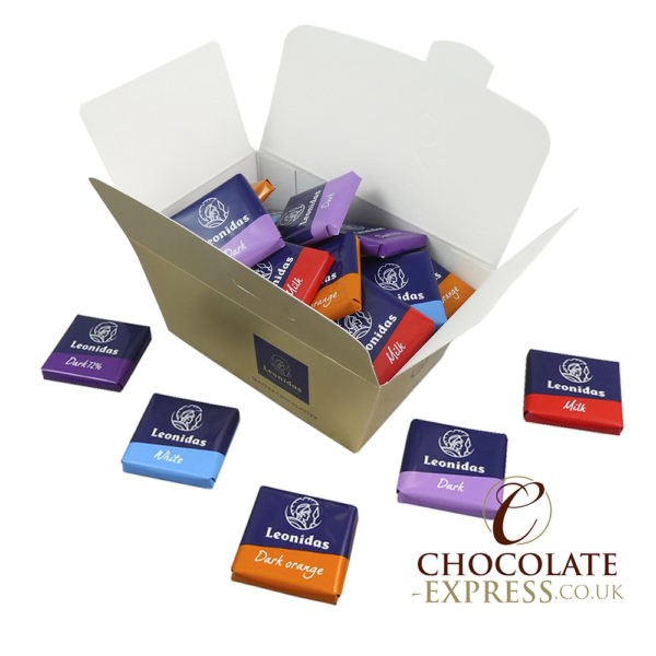 45 Gluten Free Assorted Napolitain Chocolate Squares