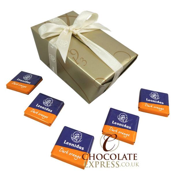 45 Dark Orange Chocolate Squares