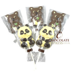 5 Leonidas Milk & White Chocolate Lollies