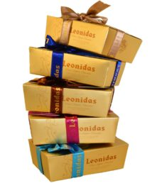 5 Gift Boxes of 8 Assorted Leonidas Chocolates