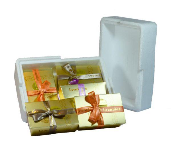 5 Gift Boxes of 8 Assorted Leonidas Chocolates