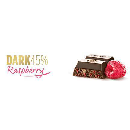 6 Raspberry and Dark Bars