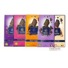 6 Self Select Leonidas Large Bars, 10 Flavours