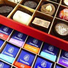 60 Assorted Leonidas Chocolates