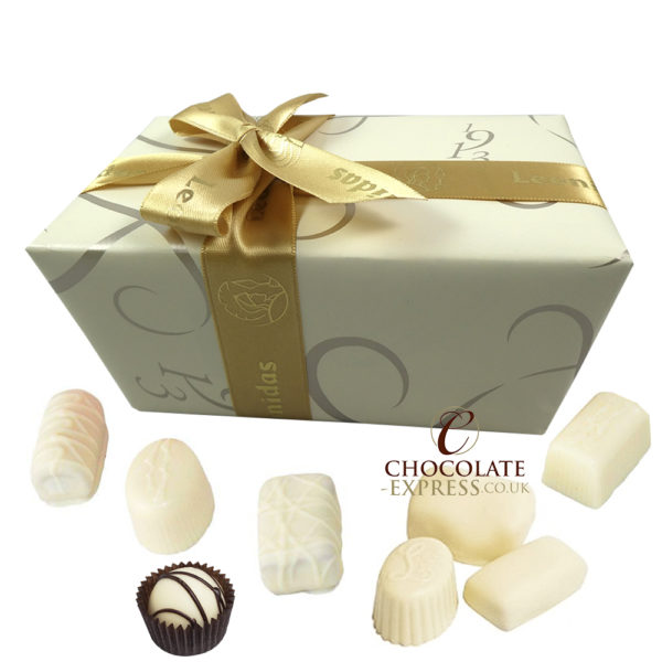 60 Leonidas White Chocolates