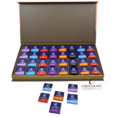 64 Assorted Napolitain Chocolate Squares