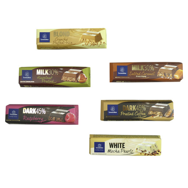 17 Leonidas Chocolates & 4 Mixed Bars Hamper
