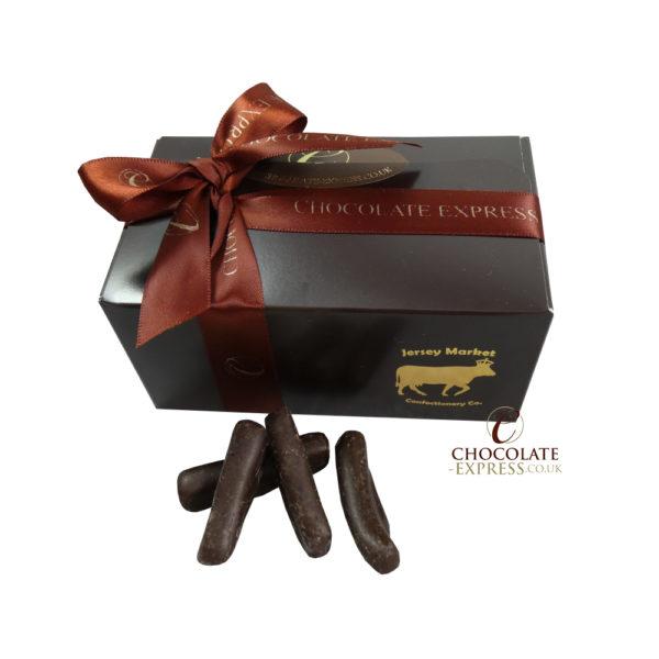 Dark Chocolate Ginger Sticks Small