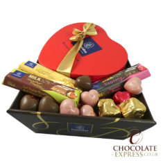Heart Gift Hamper, Choose Your Own, 21 Chocolates, 3 Bars