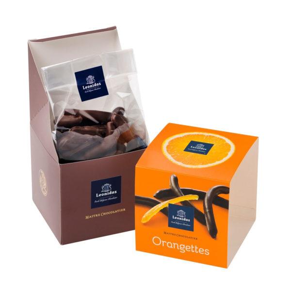 Leonidas Orangette, Dark Chocolate Candied Orange