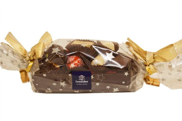 11 Assorted Chocolates, Leonidas Dark Yule Log