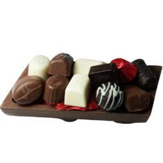 11 Assorted Chocolates, Leonidas Milk Yule Log