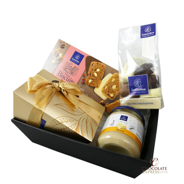 Leonidas Manon Hamper, Assorted Manons, Biscuits, Spread