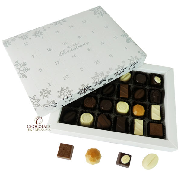 No Added Sugar Advent with Belgian Chocolates