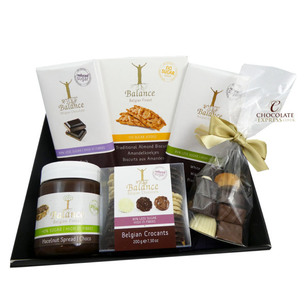 Reduced Sugar Chocolate Gift Hamper