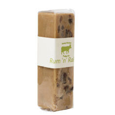 Rum & Raisin Fudge Slab