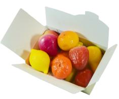 12 Leonidas Marzipan Fruits