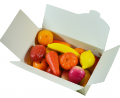 18 Leonidas Marzipan Fruits