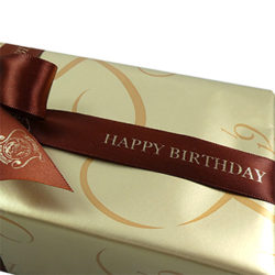 Birthday Ribbon with Gift Wrap