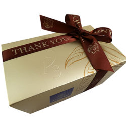 Thank You Ribbon with Gift Wrap